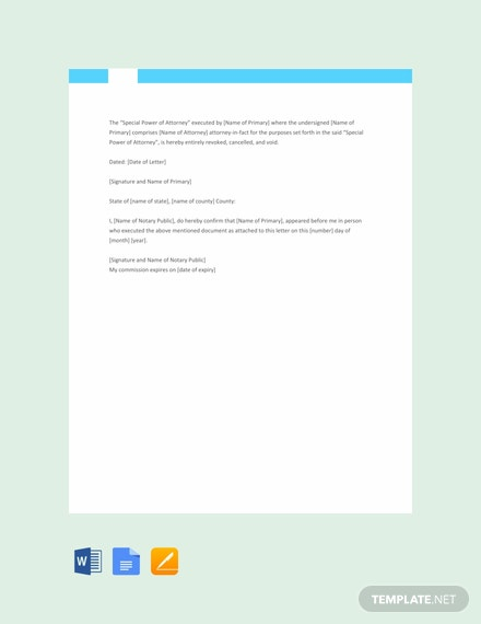 letter template with notary  FREE Notarized Letter Sample Template - Word | Google Docs ...