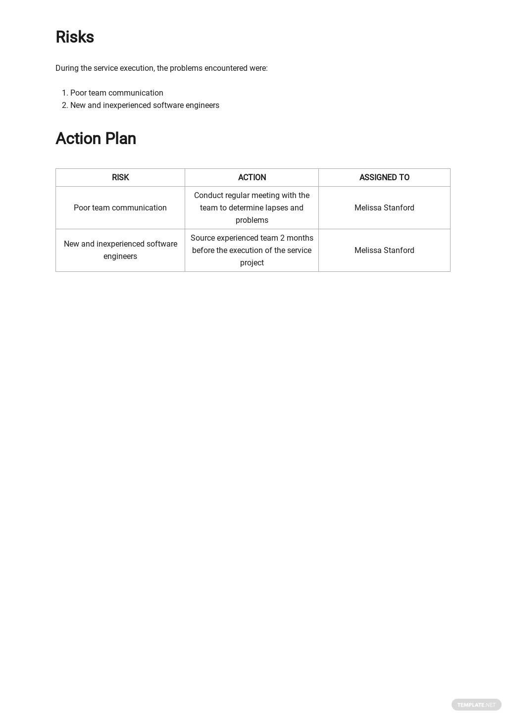 Free Sample IT and Software Report Template 3.jpe