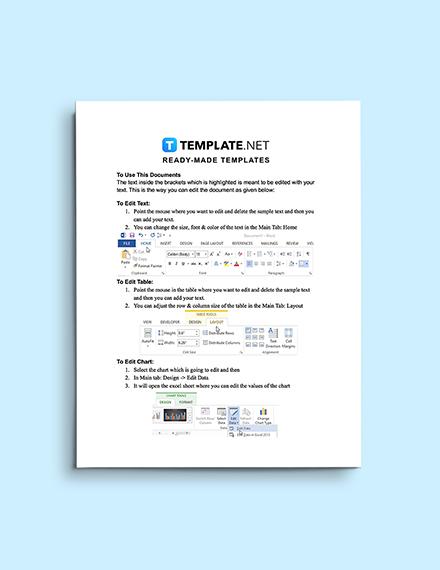Cloud Computing Policy Template Editable