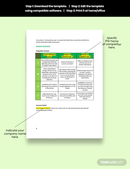 Risk Management Plan Form Example