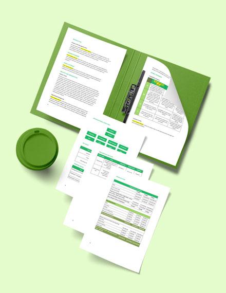 Risk Management Plan Form Sample