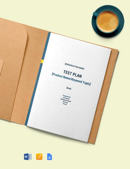 User Acceptance Test Plan Template