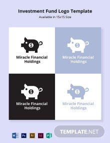 Investment Fund Logo Template