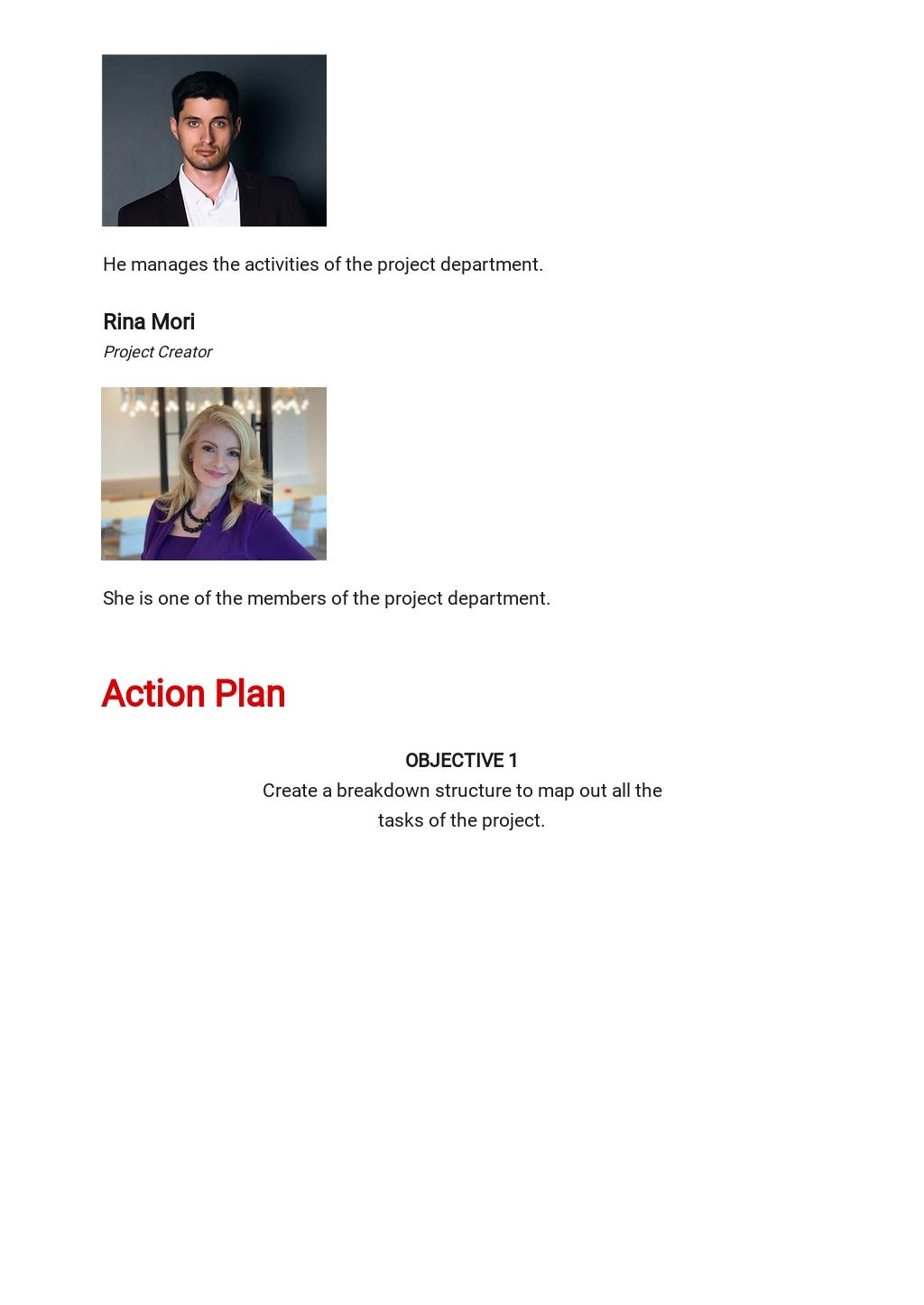 Scope Management Plan Template [Free PDF] - Google Docs, Word