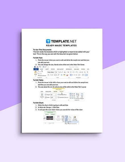 Scope Management Plan Template Editable