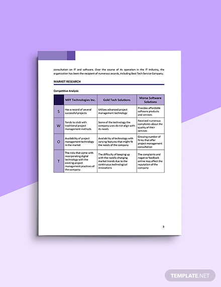 Scope Management Plan Template Example
