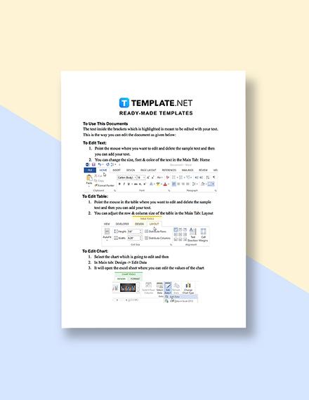 IT Business Marketing Plan Instruction