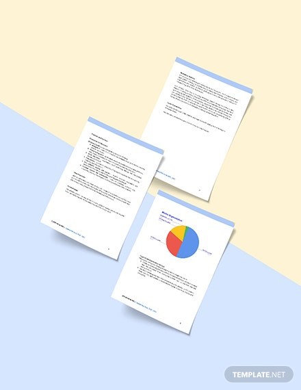 IT Business Marketing Plan Sample