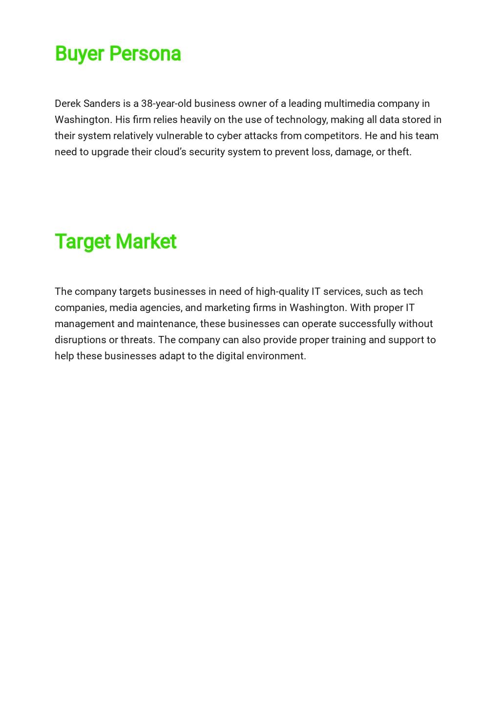 IT Business Marketing Plan Template 2.jpe