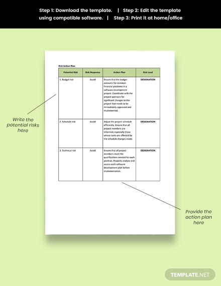 Resource and Capacity Planning  Format