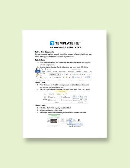 Editable Free Sample IT Sales Plan Template