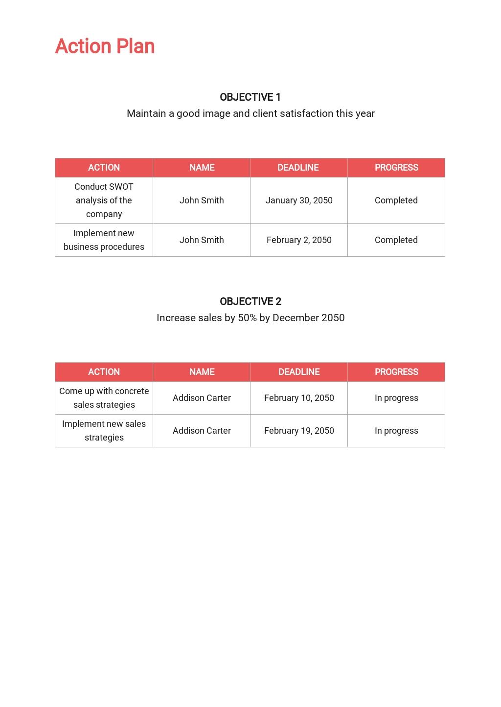 Free Sample IT Sales Plan Template 4.jpe