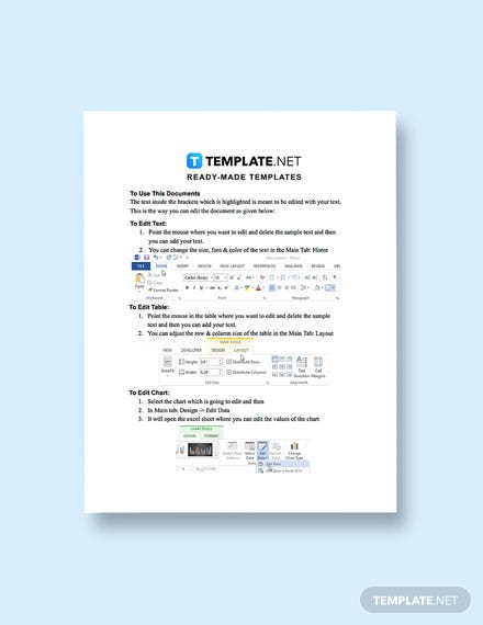 Software Product Sales Plan Instruction