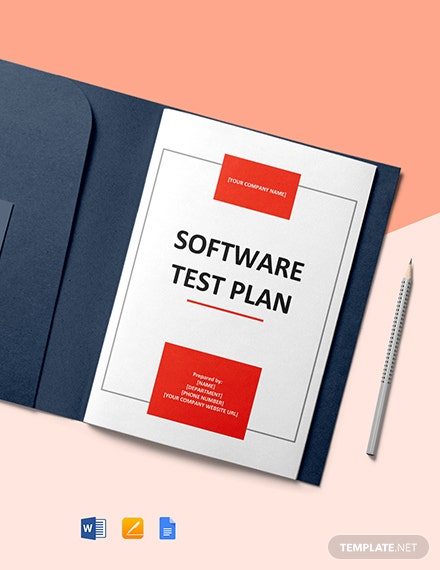 Free Software Test Plan Template