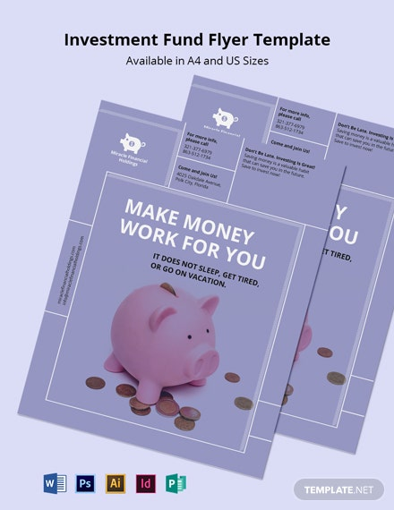 Investment Fund Flyer Template