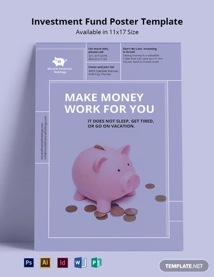 Investment Fund Poster Template