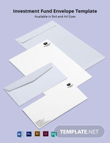 Investment Fund Envelope Template
