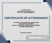 Death certificate template in psd ms word publisher illustrator conference attendance certificate template yadclub Choice Image
