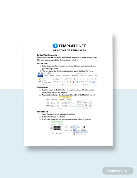 Transmission Notice for Email Template format