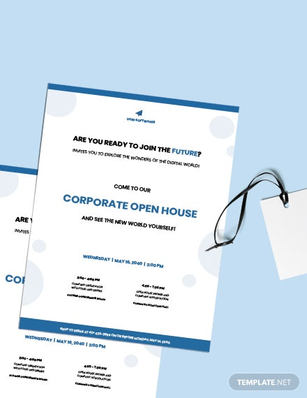 Free Creative IT Company Invitation Sample