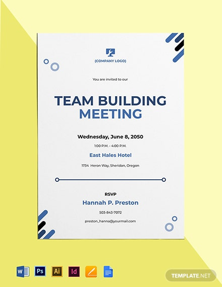 IT Meeting Invitation Template