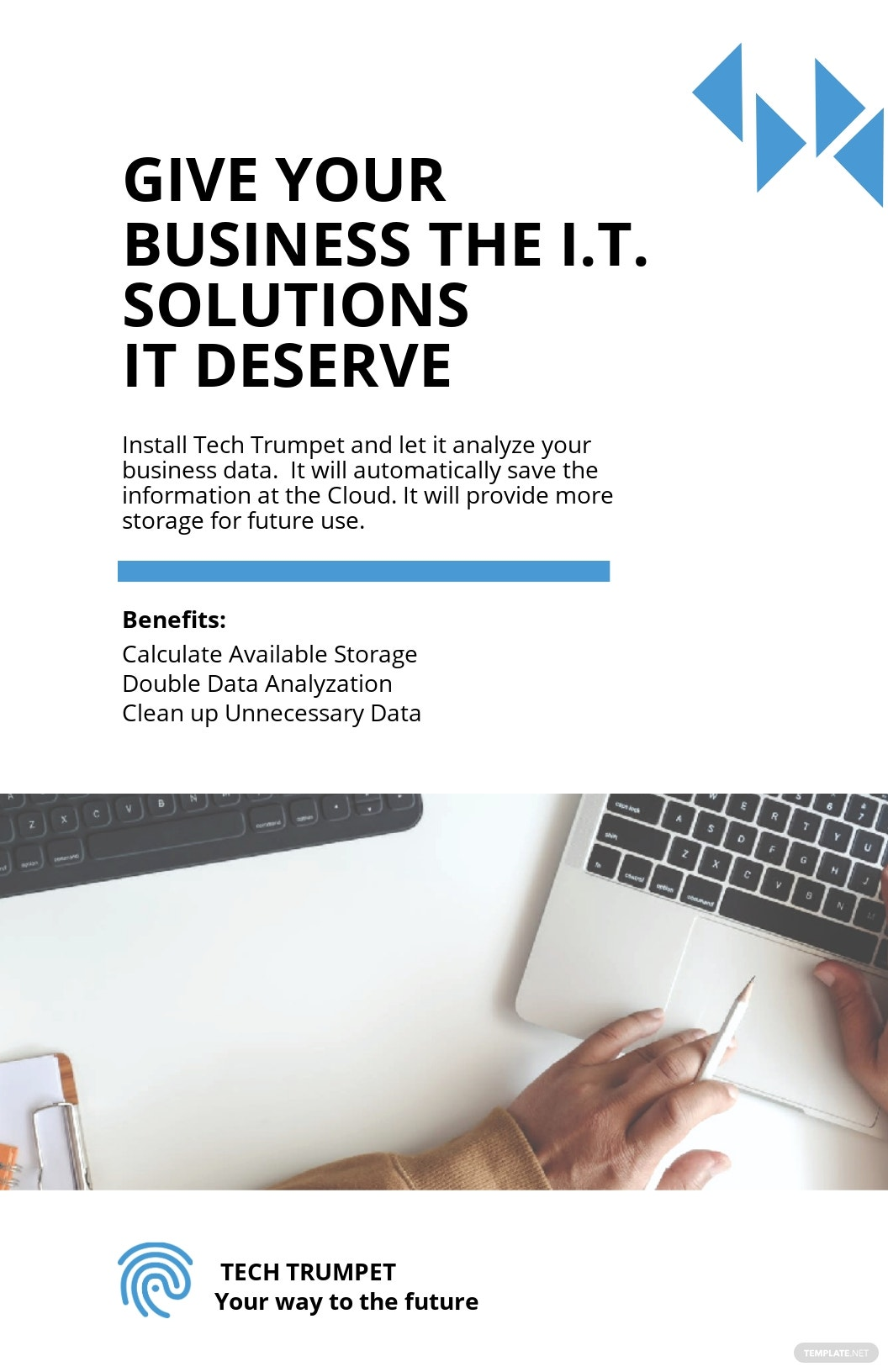 Simple IT Poster Template