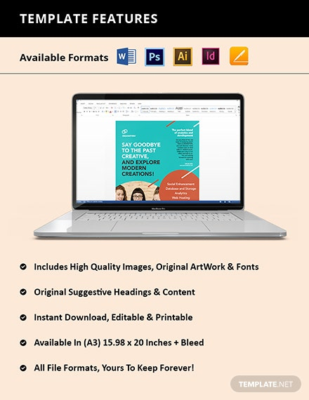Free Creative Software Poster Instruction