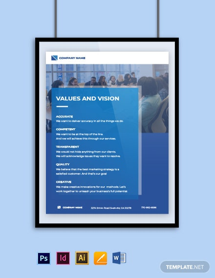 Software Company Poster Template