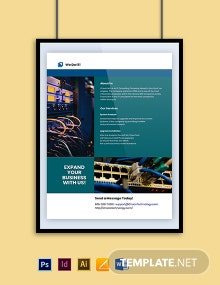 IT Service Company Poster Template