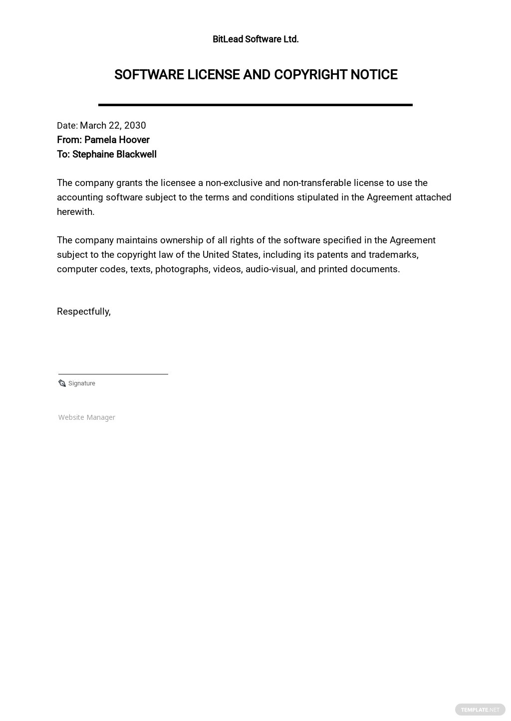 FREE Copyright Agreement Templates in Google Docs   Template.net