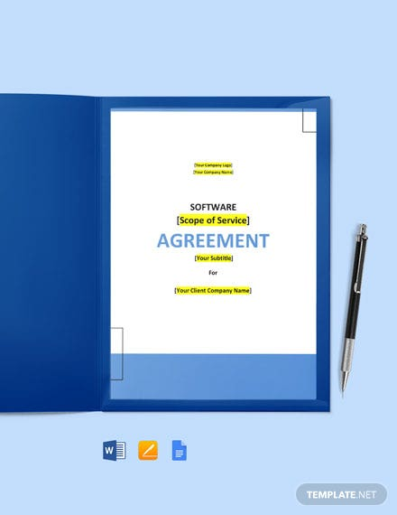 Digital Content License Agreement Template