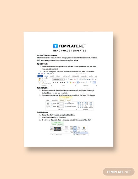 Blank IT Report Download