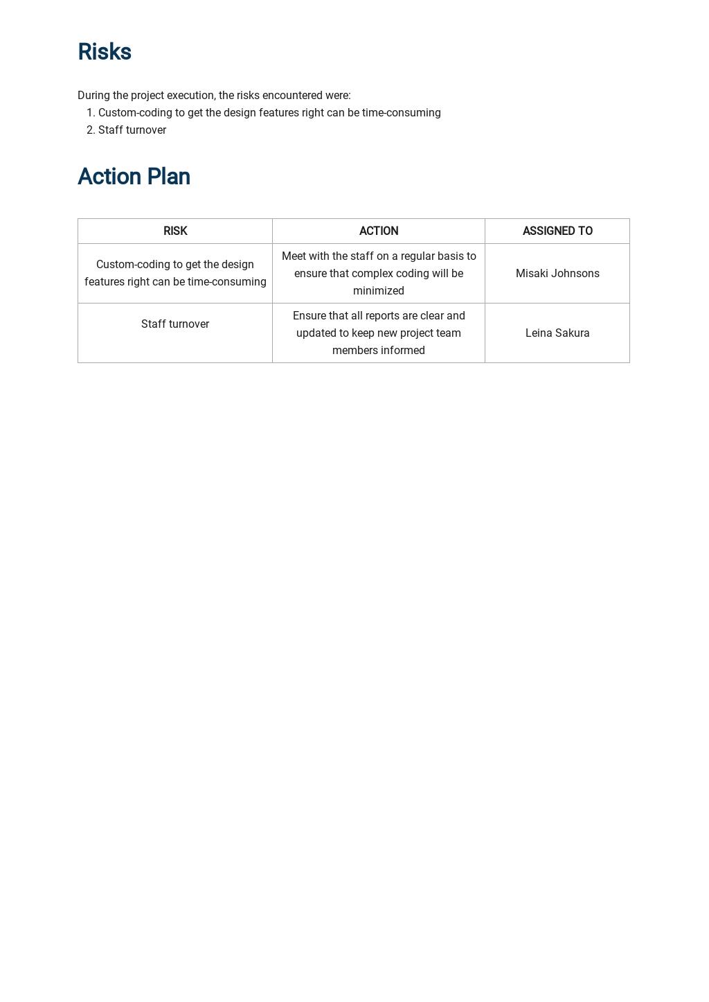 Software Development Progress Report Template 3.jpe