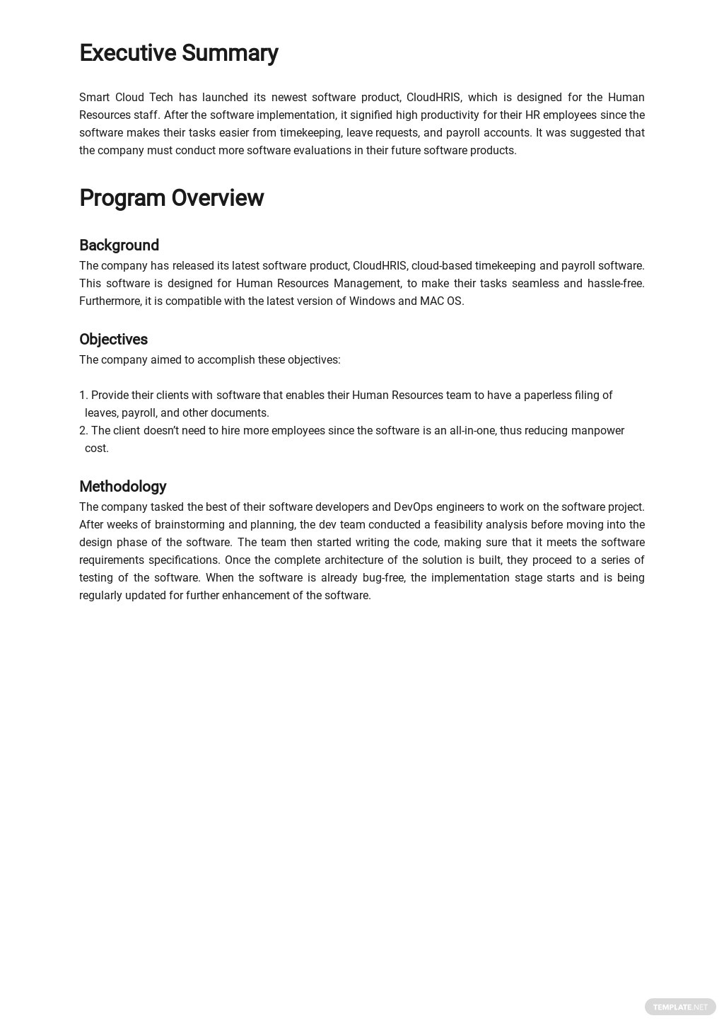 Software Evaluation Report Template 1.jpe
