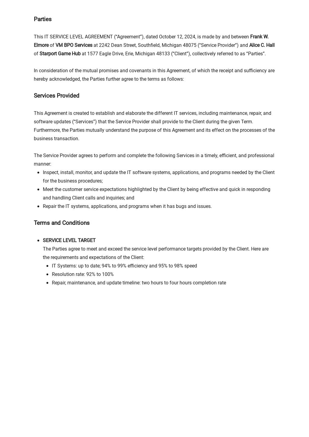 IT Service Level Agreement Template 1.jpe