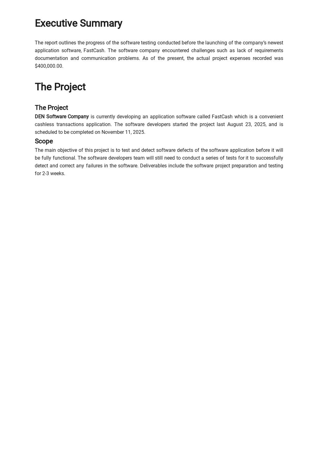Software Testing Report Template 1.jpe