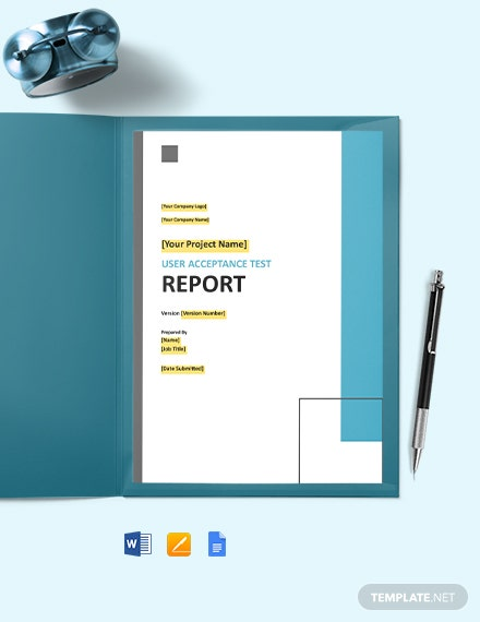 User Acceptance Test Report Template