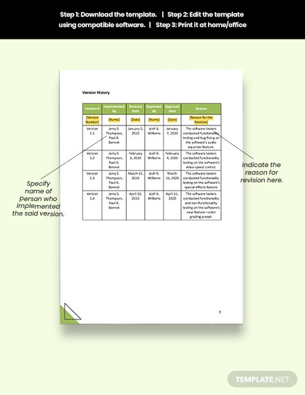 Sample Test Tracking Report Template