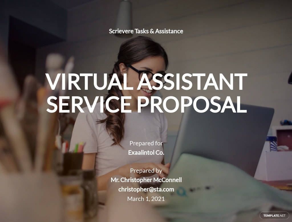 Virtual Assistant Proposal Template
