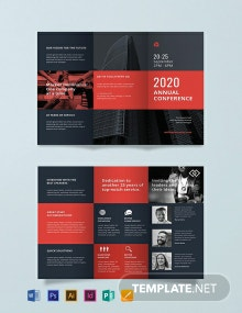 Free Conference Business Brochure Template