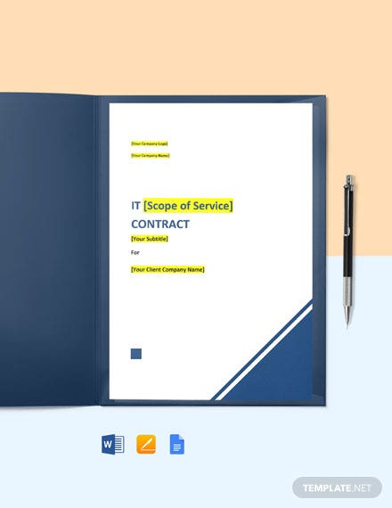 Technology Consulting Contract Template