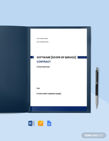 Software Developer Contract Template