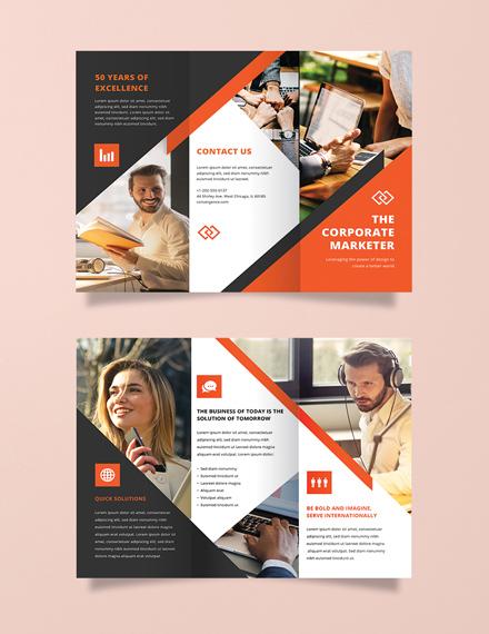 Free Modern Brochure Template