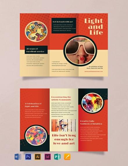 Free Sample Retro Brochure