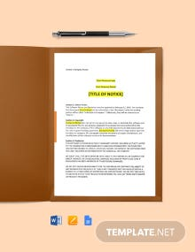 Software Copyright Notice And Disclaimer Template