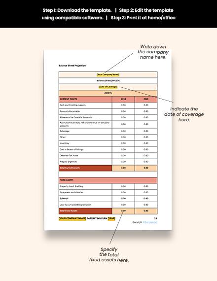 Editable Free Simple Software Marketing Plan Template