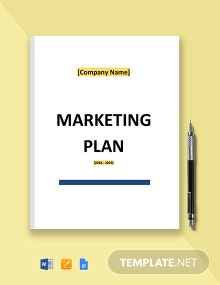 Free Basic IT Marketing Plan Template