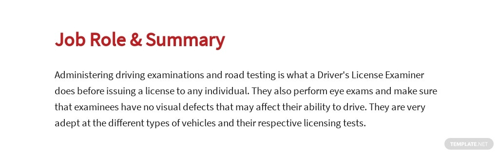 Free Drivers License Examiner Job Ads and Description Template 2.jpe