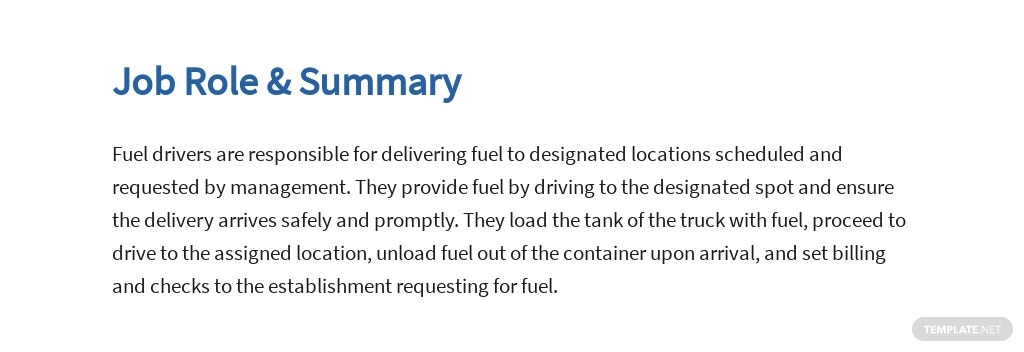 Free Fuel Driver Job Ads and Description Template 2.jpe