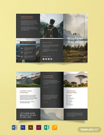Free Travel Agency Brochure Template